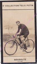 Chromo trade card Photo André GOUGOLTZ France  Cyclisme