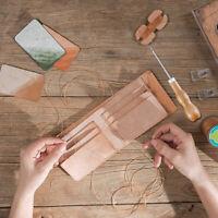 3 Stück Holzgriff Ahle Leder