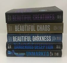 Lot 5 Kimi Garcia Margaret Stohl BEAUTIFUL Creatures Chaos Darkness Deception