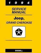 Bishko OEM Repair Maintenance Shop Manual Bound for Jeep Grand Cherokee 1994