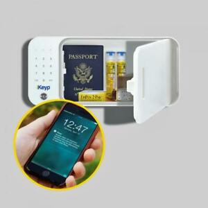 iKeyp Smart Medicine, Drug, Privacy & Storage Safe Portable or Bolt Installation