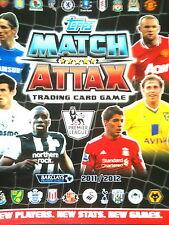 MATCH ATTAX 11/12 425 CARDS ALL 4 100 CLUB + 60 MOTM STAR PL/SIGNINGS