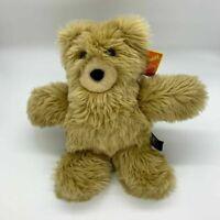 "Vermont Brown Tan Shaggy Honey Take A Long Teddy Bear 12"""