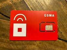 Red Pocket Mobile Gsma Sim Card For Unlocked At&T or Gsm Phones