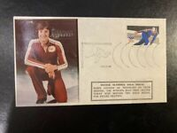 WINTER OLYMPICS - ROBIN COUSINS - GOLD MEDAL FEB 21ST 1980 - POSTAL COVER