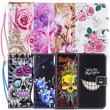 Leather Wallet Phone Soft Case Cover Stand Holster For Samsung Galaxy A5 (2017)