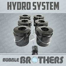 BUBBLE BROTHERS 6-POT DEEP WATER CULTURE DWC HYDROPONIC BUCKET SYSTEM