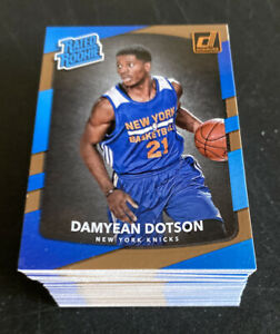(x79) DAMYEAN DOTSON RC Investment Lot 2017-18 Donruss Rated Rookie #166 🔥