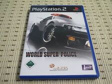 World Super Police für Playstation 2 PS2 PS 2 *OVP*