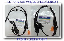 Set 2 ABS Speed Sensor Front Right & Left Fit Acura TSX 04-08 Honda Accord 03-07