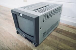 """Sony PVM-9L2 9"""" CRT Television in excellent condition (church owned)"""