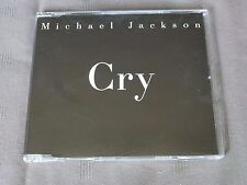 CD PROMO Michael JACKSON CRY 2001 SAMPCS 108441