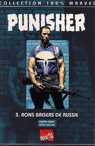 100% Marvel Punisher 3 Bon Baisers de Russie  Panini
