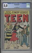 Teen Comics #29 CGC 5.0 (W) VG/FN Marvel Comics 1949 Patsy Walker Georgie