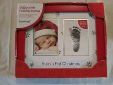 """HEARTFELT~ BABY'S FIRST CHRISTMAS 4 X 6's OR 5 x 7 PHOTO FRAME by """"PEARHEAD"""""""