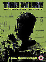 The Wire - Series 2 - Complete (DVD, 2005, 5-Disc Box Set) Brand new, sealed