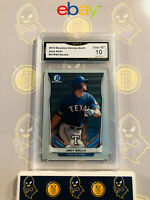 2014 Bowman Chrome Draft Joey Gallo #CTP-80 Rookie - 10 GEM MINT GMA Graded Card