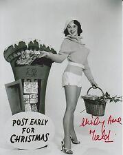 Shirley Anne Field Signed 8x10 Photo - British Royal Mail Photo Shoot -RARE G213