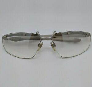 VERSUS Clear with Gray Frame Glasses MOD. L34 Made in Italy