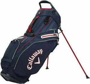 New Callaway Golf 2021 Fairway 14 Stand Bag 14-Way Top COLOR: Navy/White/Flag