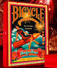 Bicycle Firecracker Playing Cards by Collectable Playing Cards and Murphys Magic