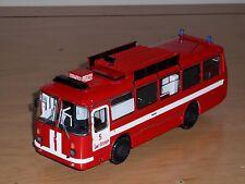 BUS LAZ-695N AS-5 Feuerwehrbus ,FINOKO,Russische Handarbeit Modell 1,43