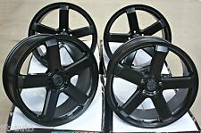"20 ""SPEC MATT BLACK 5 Spoke concavo stile 5x120 20 Pollici Ruote in Lega"