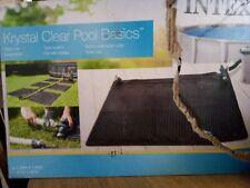 Intex Krystal clear pool basics solar mat damaged box