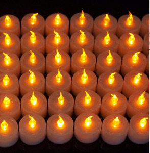 LED Flickering Battery Operated Tea Light Candle Tealight