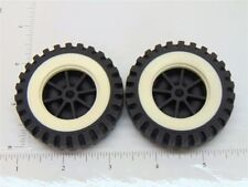 Set of 2 Tonka Plastic Wheels/Inserts Replacement Toy Parts TKP-072-2
