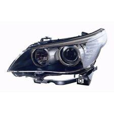 Front Left Headlight Black Inner Motor DRL LED For BMW 5 Series E60 E61
