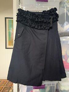 tricot comme des garcons skirt (size S)