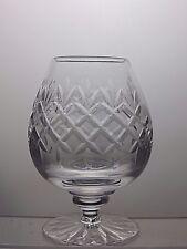 LEAD Crystal Brandy vetro tagliato con inciso Darby Golf Club