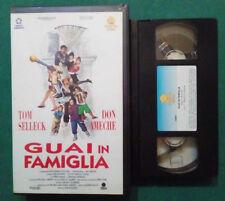 VHS FILM Ita Commedia GUAI IN FAMIGLIA tom selleck ameche ex nolo no dvd(VH89)