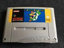 Jeu Super Nintendo Super Mario World FAH Très Bon état et Fonctionnel
