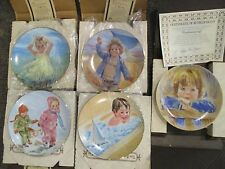 4 - Childs Play Collector's Plates Lot 5 Francis Hook & Daydreaming Legacy Coa's