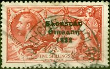 Ireland 1935 5s Bright Rose-Red SG100 Good Used