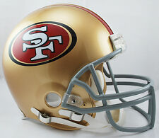 SAN FRANCISCO 49ers NFL Riddell Pro Line AUTHENTIC VSR-4 Football Helmet