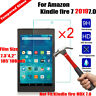 2x Tempered Glass for Amazon Kindle Fire 7 2019 9th Gen Screen Protector Cover