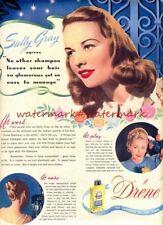 DRENE SHAMPOO - Vintage Original (NOT Repro!) ADVERTISEMENT. Free UK Postage
