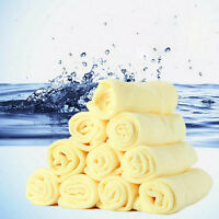 1/10Pcs Microfiber Kitchen Wash Auto Car Home Dry Polishing Cloth Cleaning Decor