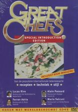 Great Chefs presents Special Introduction Edition (DVD + kook-magazine)