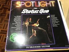 "STATUS QUO SPANISH 12"" LP DOUBLE PACK SPAIN SPOTLIGHT CLASSIC ROCK COMPILATION"