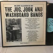 BLUES CLASSICS BY THE JUG JOOK & WASHBOARD BANDS Various V/A LP 1964 Arhoolie EX