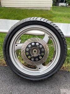 2001 Suzuki GS500 Rear Wheel Rim Rotor 2002 2003 2004 2005 2006 2007 2008 2009