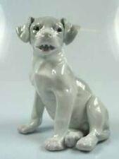 Welpe Bernhardiner  Terrier porzellanfigur Hund hundefigur heubach porzellan