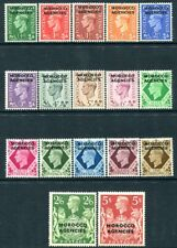 MOROCCO AGENCIES-1949 Set to 5/- Sg 77-93 UNMOUNTED MINT V30428