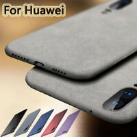 For Huawei P Smart 2019 P30 P20 Pro P9 Lite Soft TPU Sandstone Matte Case Cover