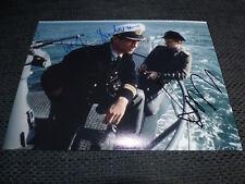 """JURGEN PROCHNOW & HERBERT GRONEMEYER signed 8x11 inch """"DAS BOOT"""" Photo InPerson"""
