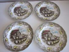 Johnson Brothers Friendly Village Luncheon Plates set of 4 England